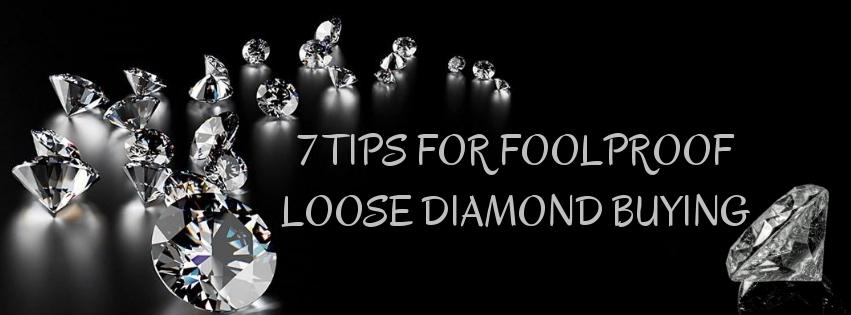 7 Tips to Choose Certified Loose Diamonds