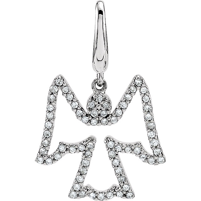 Spell Out Magic with Diamond Pendants