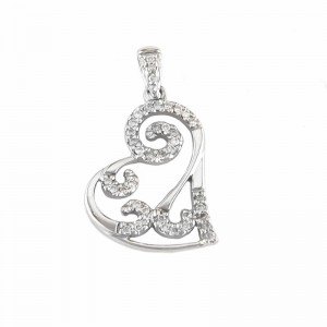 heart pendant ware jewelers