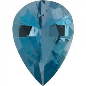 Pear Shape Aquamarine Diamond