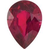 Pear Shaped Ruby