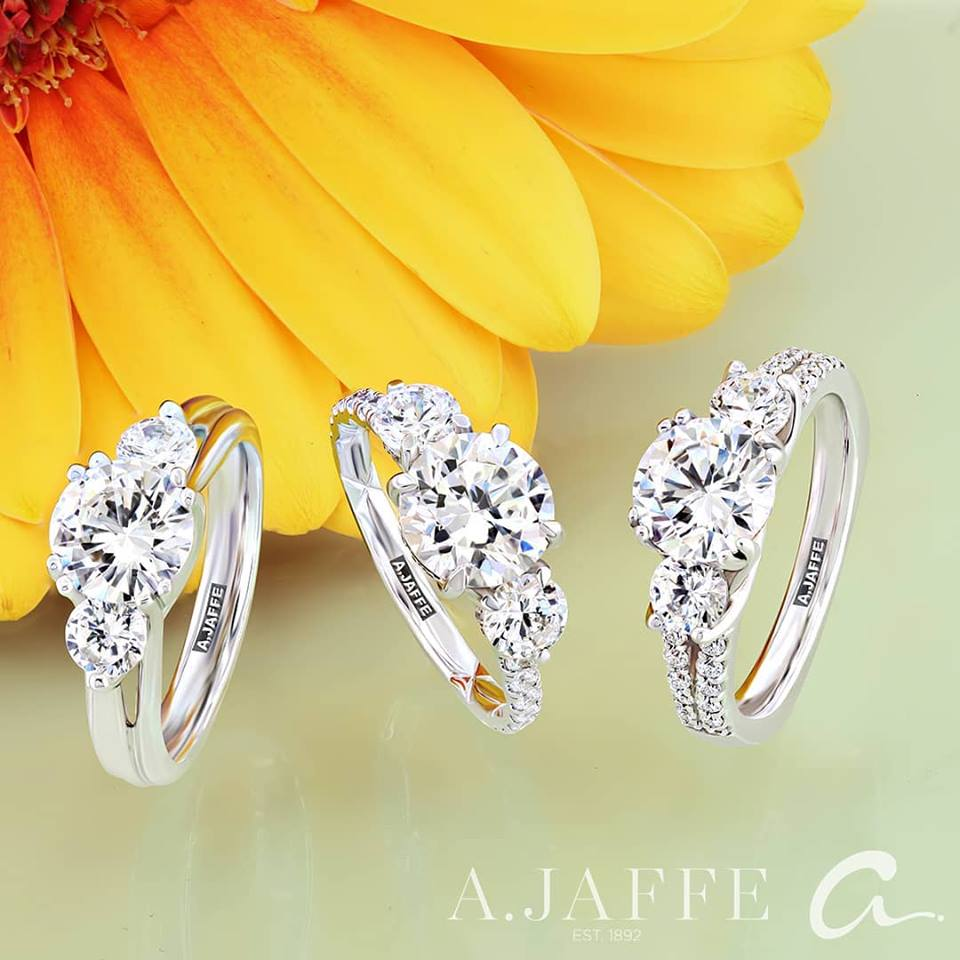 Diamond Engagement Wedding Rings AL