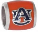 Navy AU Orange Background Bead