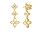 Princess Flower Drop Earrings