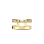 Symphony DOUBLE SYMPHONY PRINCESS RING WITH DIAMONDS