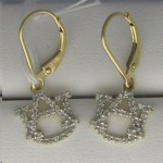 Diamond AU Earrings