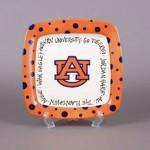 Auburn University Square Plate