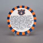 Auburn University Definition Plate