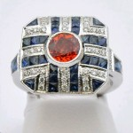 Orange and Blue Spirit Ring
