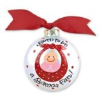 Alabama Born To Be Girl Ornament