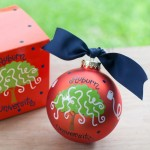 Auburn Toomer Roll Ornament
