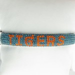 Orange And Blue Crystal Bracelet
