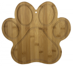 PAW PRINT CUTTING AND SERVING BOARD