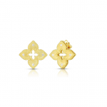 Roberto Coin 18KY Petite Venetian Princess Stud Earrings