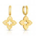 Roberto Coin 18K Petite Venetian Princess Diamond Accent Drop Earring