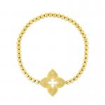 Roberto Coin 18KY Petite Venetian Princess Stretch Bracelet