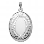 STERLING SILVER LARGE LOCKET