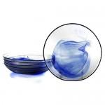 Cobalt Murano Soup Bowl