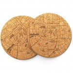 Auburn Cork Coasters, Set of 2