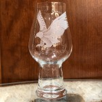 Etched Eagle IPA Glass