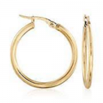 Roberto Coin Perfect Gold Hoops Small Round Hoop Earrings