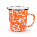 16 OZ. ORANGE SWIRL MUG