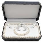 7x8mm 3 Piece Pearl Set
