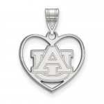 AUBURN UNIVERSITY IN HEART PENDANT