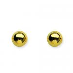 7 MM Ball Stud Earrings
