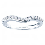 0.48ct Round Diamond Wedding in 14K White Gold