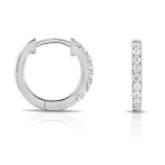 .20CT DIAMOND BABY HOOPS 14KW