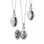Petite Bridle Locket Necklace