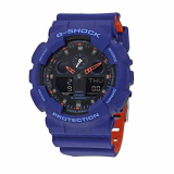 Orange and Blue G-Shock Military Series