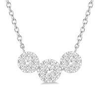 Diamond Pendants and Necklaces