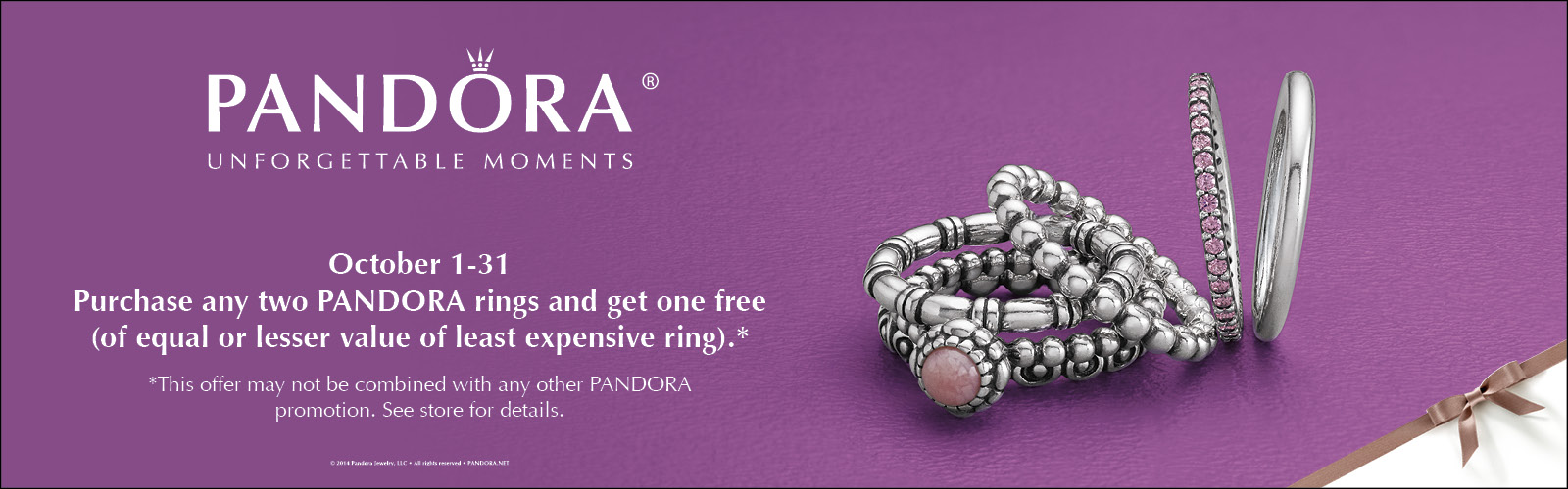Pandora October Ring Event 2014