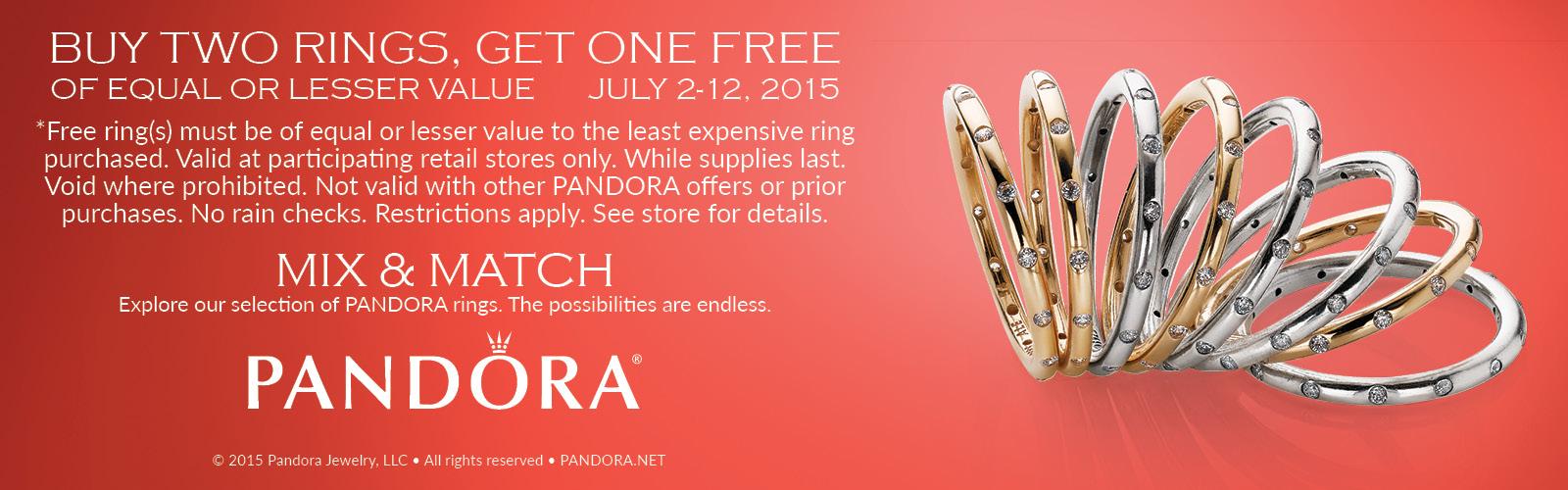 Pandora Summer Ring Event