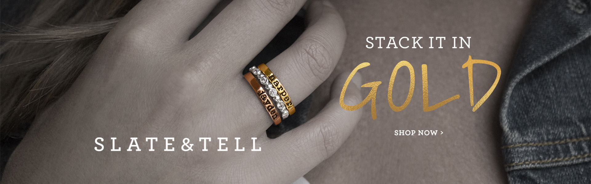 Slate and Tell Go Gold